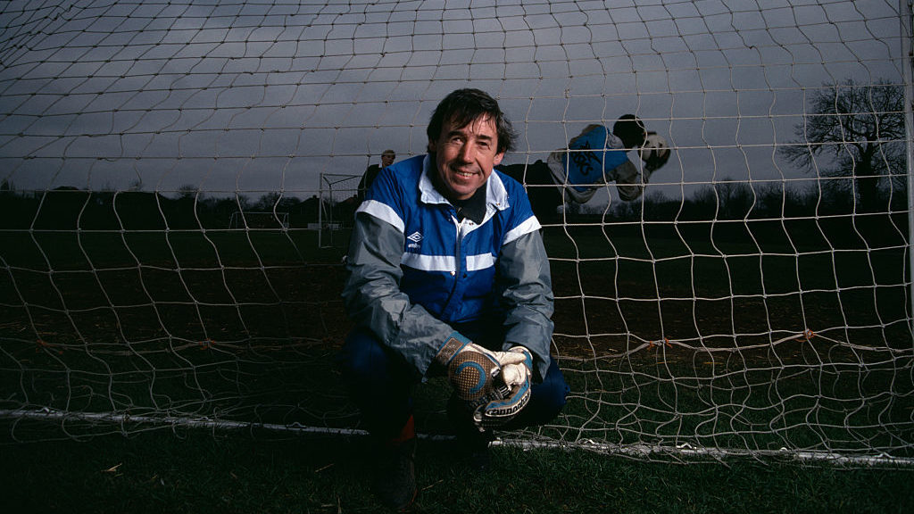 For 10 years, Gordon Banks was England's goalkeeper, and indisputably the best in the world. Perhaps the finest there has ever been. Banks performed magnificently during the 1966 World Cup finals, conceding only three goals in the tournament, as England lifted the trophy for the first time.  (Photo by Jean-Yves Ruszniewski/TempSport/Corbis/VCG via Getty Images)