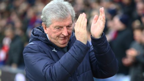 London, England - 12 January, 2019 Crystal Palace manager Roy Hodgson  during English Premier League between Crystal Palace and Watford at Selhurst Park stadium , London, England on 12 Jan 2019.  (Photo by Action Foto Sport/NurPhoto)