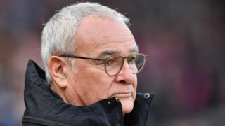 Fulham's Italian manager Claudio Ranieri looks on ahead of the English Premier League football match between Crystal Palace and Fulham at Selhurst Park in south London on February 2, 2019. (Photo by Ben STANSALL / AFP) / RESTRICTED TO EDITORIAL USE. No use with unauthorized audio, video, data, fixture lists, club/league logos or 'live' services. Online in-match use limited to 120 images. An additional 40 images may be used in extra time. No video emulation. Social media in-match use limited to 120 images. An additional 40 images may be used in extra time. No use in betting publications, games or single club/league/player publications. /