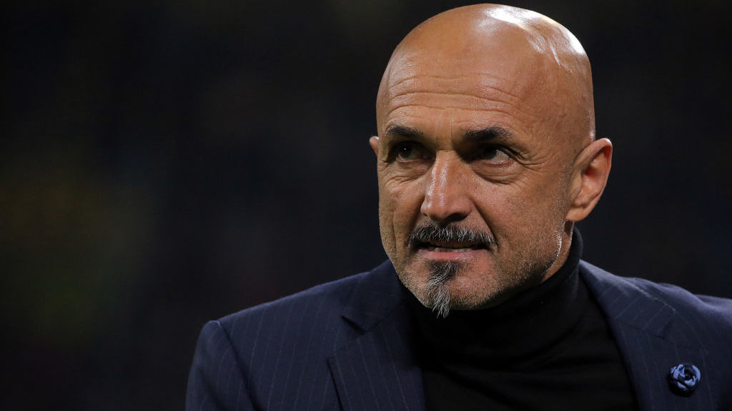 head coach of FC Internazionale Milano Luciano Spalletti before the serie A match between FC Internazionale and SS Lazio at Stadio Giuseppe Meazza on March 31, 2019 in Milan, Italy. (Photo by Giuseppe Cottini/NurPhoto via Getty Images)
