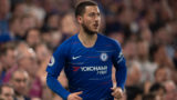 LONDON, ENGLAND - APRIL 22: Eden Hazard of Chelsea during the Premier League match between Chelsea FC and Burnley FC at Stamford Bridge on April 22, 2019 in London, United Kingdom. (Photo by Visionhaus/Getty Images)