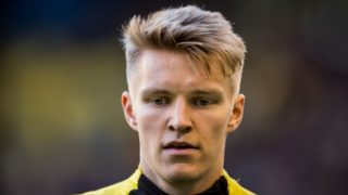 Norwegian Vitesse-player Martin Odegaard is seen during the Dutch Eredivisie play off final second leg football match between Vitesse Arnhem and FC Utrecht in Arnhem on May 28, 2019. (Photo by Lars SMOOK / ANP / AFP) / Netherlands OUT