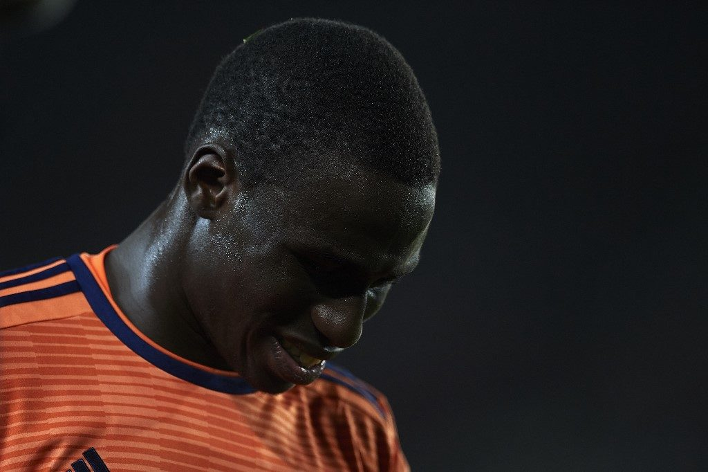 Ferland Mendy of Lyon during the UEFA Champions League Round of 16 Second Leg match between FC Barcelona and Olympique Lyonnais at Nou Camp on March 13, 2019 in Barcelona, Spain. (Photo by Jose Breton/NurPhoto)