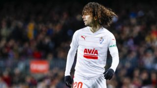 SD Eibar defender Marc Cucurella (20) during the match FC Barcelona against Eibar, for the round 19 of the Liga Santander, played at Camp Nou  on 13th January 2019 in Barcelona, Spain. (Photo by Mikel Trigueros/Urbanandsport/NurPhoto)