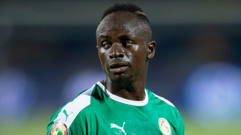 CAIRO, EGYPT - JULY 01: Sadio Mane of Senegal during the 2019 Africa Cup of Nations Group C match between Kenya and Senegal at 30th June Stadium on July 1, 2019 in Cairo, Egypt. (Photo by Visionhaus)