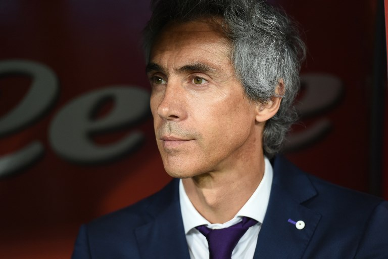 Fiorentina coach Paulo Sousa during the Serie A TIM match between SSC Napoli and ACF Fiorentina at Stadio San Paolo Naples Italy on 20 May 2017. (Photo Franco Romano/Nurphoto)