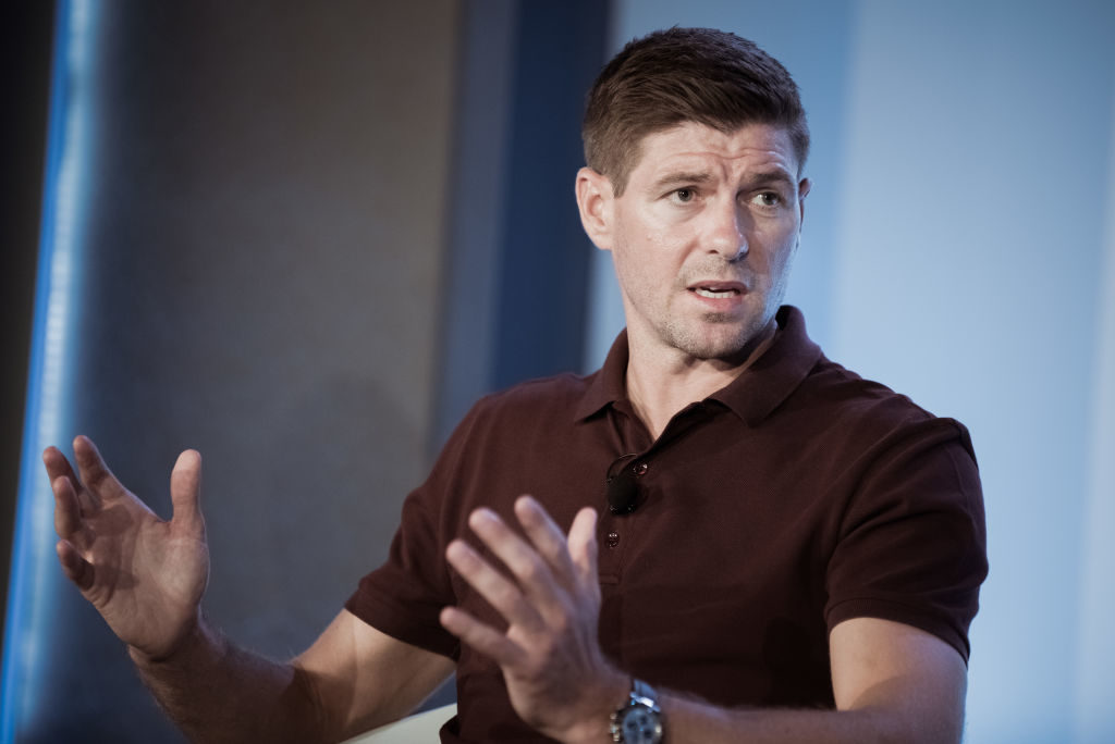 CANNES, FRANCE - JUNE 22:  Steven Gerrard attends the Cannes Lions Festival 2017 on June 22, 2017 in Cannes, France.  (Photo by Francois G. Durand/Getty Images)