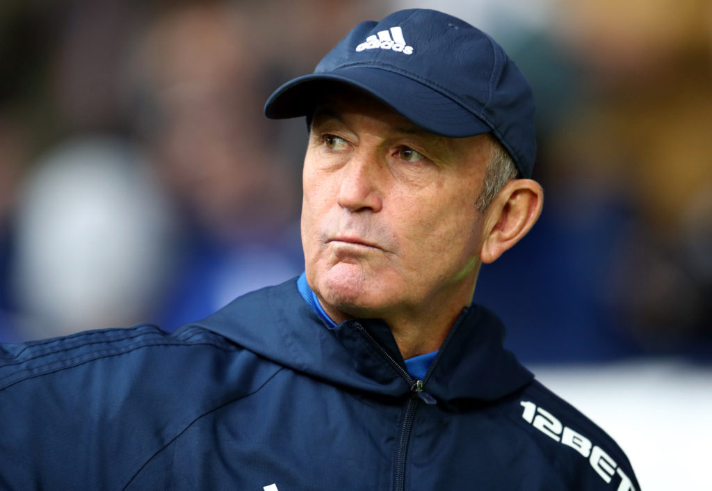 WEST BROMWICH, ENGLAND - NOVEMBER 18: Tony Pulis the head coach / manager of West Bromwich Albion during the Premier League match between West Bromwich Albion and Chelsea at The Hawthorns on November 18, 2017 in West Bromwich, England. (Photo by Catherine Ivill/Getty Images)