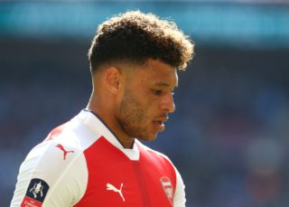 Arsenal's Alex Oxlade-Chamberlain