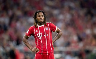 Bayern's Renato Sanches in action during the game against Liverpool during the AUDI Cup 2017 in the Allianz Arena in Munich, Germany, 1 August 2017.