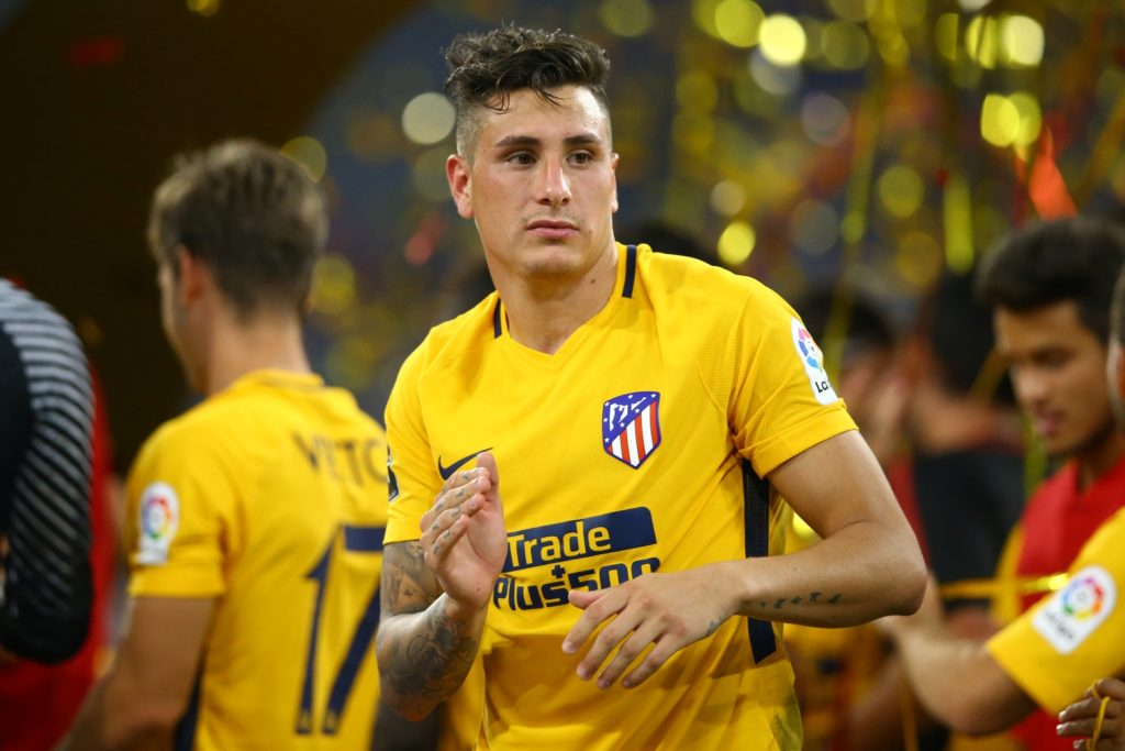 Jose Maria Gimenez of Atletico de Madrid  during the Audi Cup 2017 match between Liverpool FC and Atletico Madrid at Allianz Arena on August 2, 2017 in Munich, Germany.  (Photo by Matteo Ciambelli/NurPhoto)