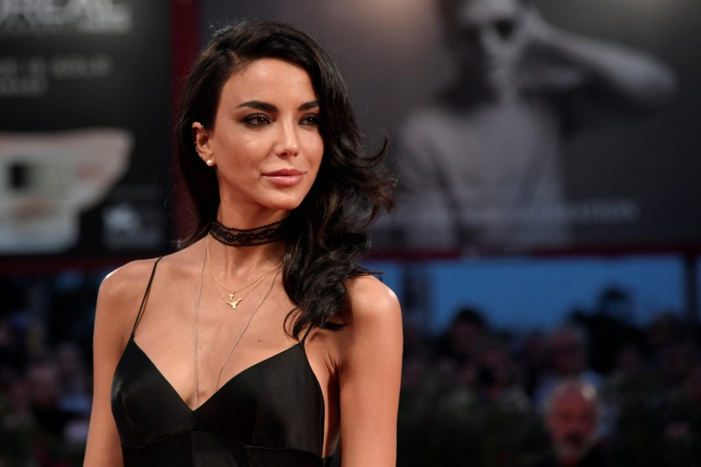 """Actor Chiara Biasi attends the Premiere of the movie """"Questi Giorni"""" (These Days) presented in competition at the 73rd Venice Film Festival on September 8, 2016 at Venice Lido. / AFP PHOTO / TIZIANA FABI"""