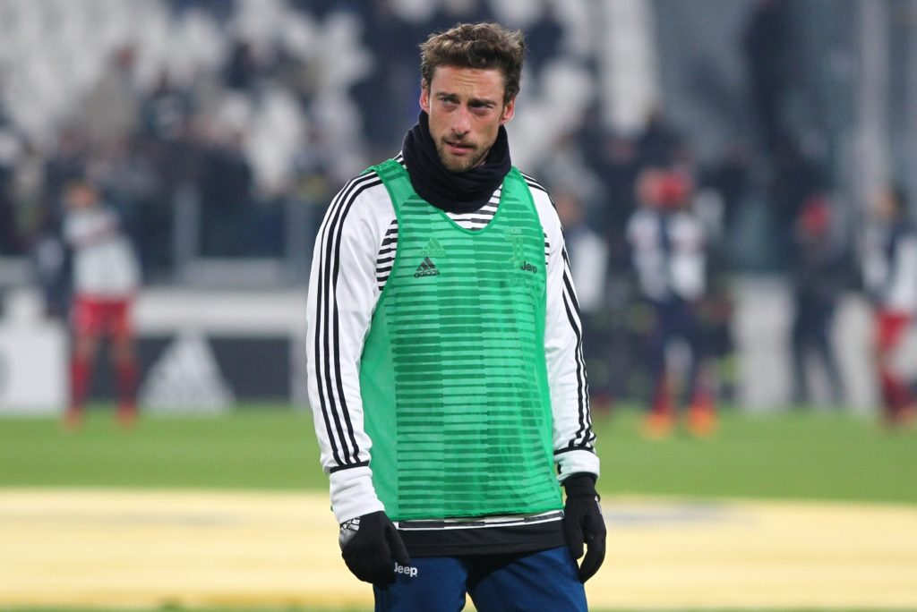 Claudio Marchisio (Juventus FC) before the Italian Cup football match between Juventus FC and Geona CFC at Allianz Stadium on 20 December, 2017 in Turin, Italy.  Juventus won 2-0 over Genoa. (Photo by Massimiliano Ferraro/NurPhoto)
