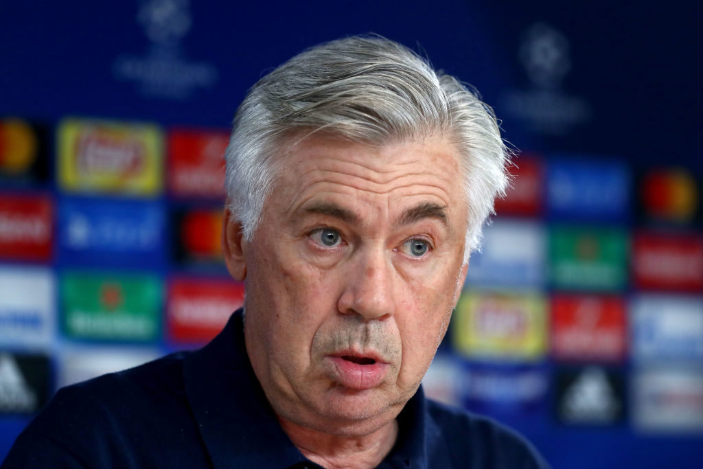 during a Bayern Muenchen press conference ahead of the UEFA Champions League Group B match against Anderlecht at Saebener Strasse training ground on September 11, 2017 in Munich, Germany.