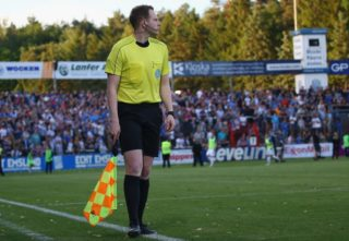 during the Relegation Regionalliga Play Off second leg match at Hensch Arena on May 31, 2017 in Meppen, Germany.
