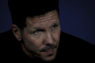 MADRID, SPAIN - SEPTEMBER 27: Atletico de Madrid coach Diego Pablo Simeone during the Champions League 2017/18 match between Atletico de Madrid and Chelsea, at Wanda Metropolitano Stadium in Madrid on September 27, 2017.  Guillermo Martinez / Anadolu Agency
