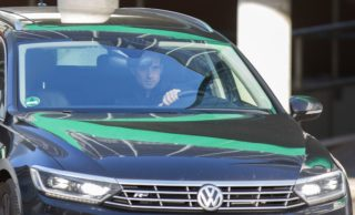 Bremen's German head coach Alexander Nouri leaves the training area ahead a training session, on October 30, 2017 in Bremen, northern Germany. Werder Bremen announced on October 30, 2017 the dismissal of Nouri. / AFP PHOTO / dpa / Joerg SARBACH / Germany OUT