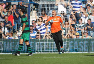 LONDON, ENGLAND - SEPTEMBER 02:  Jose Mourinho during the  #GAME4GRENFELL at Loftus Road on September 2, 2017 in London, England. The charity football match has been set up to benefit those who were affected in the Grenfell Tower disaster.  (Photo by Mike Marsland/Mike Marsland/WireImage)