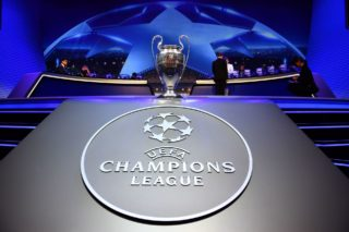 MONTE CARLO, MONACO - AUGUST 24: UEFA Champions League trophy is seen during the UEFA Champions League 2017-18 Group stage draw ceremony, at the Grimaldi Forum, Monte Carlo in Monaco, on August 24, 2017. Mustafa Yalcin / Anadolu Agency