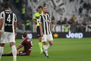 Miralem Pjanic (Juventus FC) during the Serie A football match between Juventus FC and Torino FC at Allianz Stadium on 23 September, 2017 in Turin, Italy.      (Photo by Massimiliano Ferraro/NurPhoto)