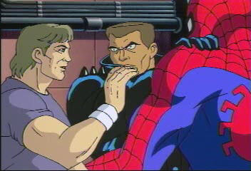 The Spiderman Animated Series - Whistler, Blade, Spiderman