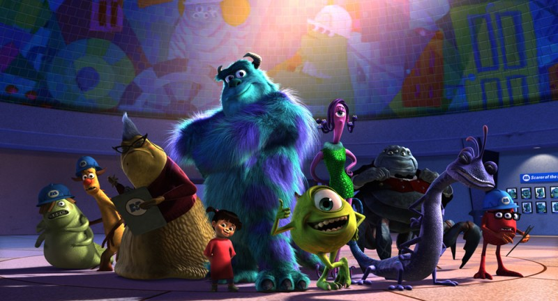 """""""MONSTERS, INC. 3D"""" ©2012 Disney•Pixar. All Rights Reserved."""