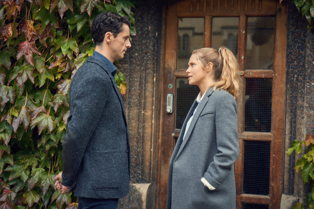 A Discovery of Witches - Series 01First LookMatthew Goode as Matthew Clairmont and Teresa Palmer as Diana Bishop.